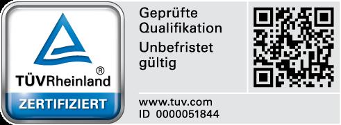 TÜV Rheinland perscert