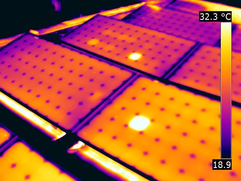 Photovoltaik Thermografie Mallorca Schweiz Österreich Deutschland