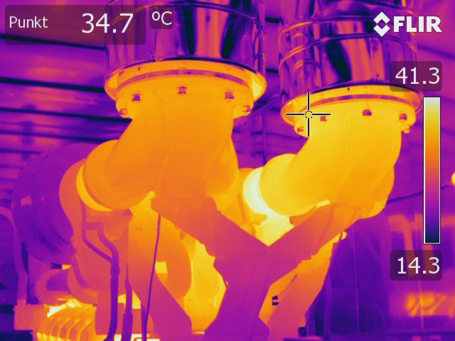 Industrie Thermografie Mallorca Schweiz Österreich Deutschland