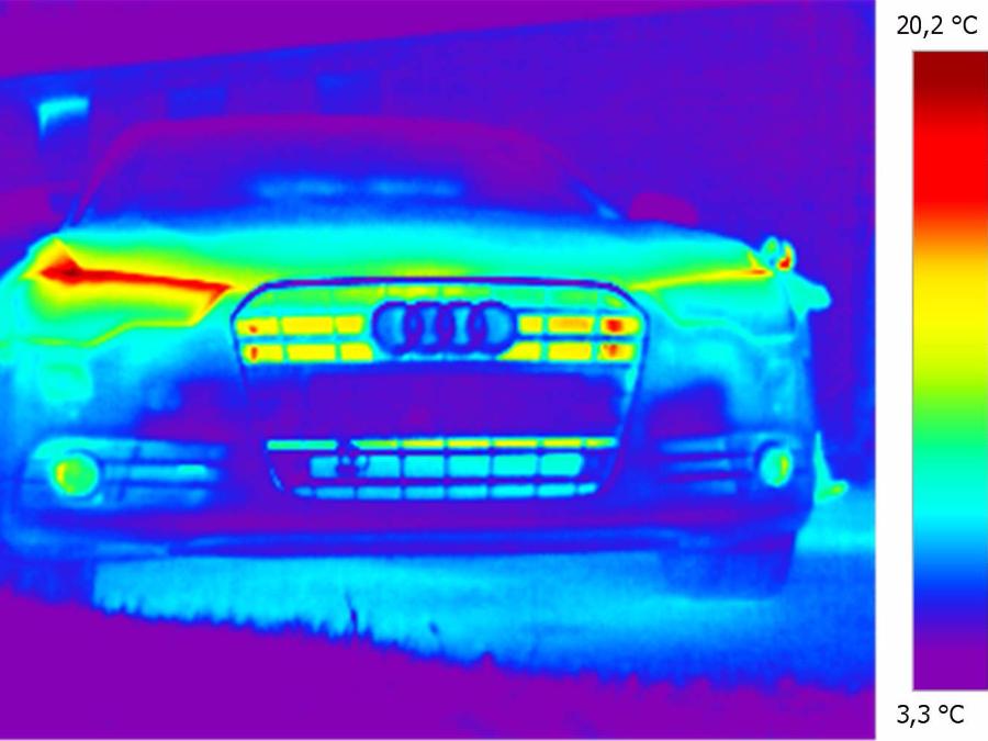 Front eines Audis